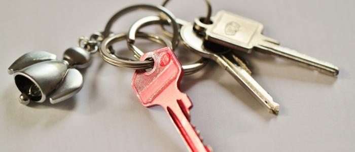 klucze do domu w ramach RNS